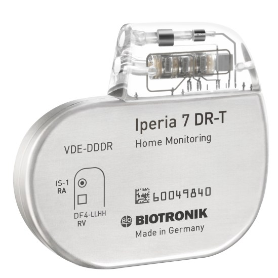 Iperia 7 DR-T, an Implantable Cardiac Defibrillator (ICD)