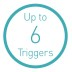 Up to Six Detection Triggers
