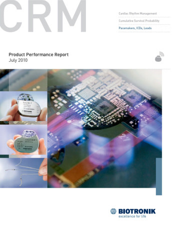 Product Performance Report July 2010