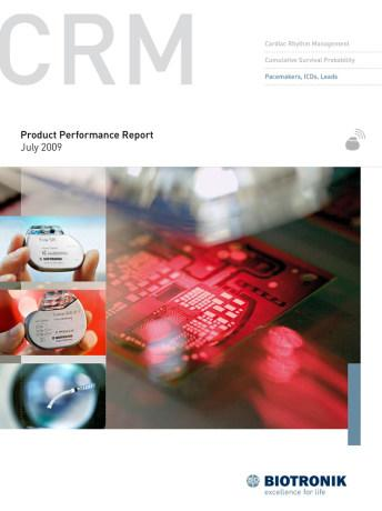 Product Performance Report July 2009