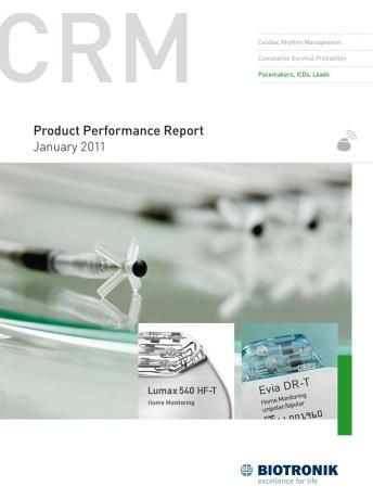 Product Performance Report January 2011
