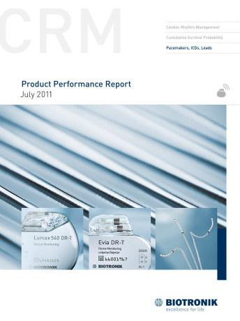 Product Performance Report July 2011