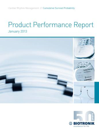 Product Performance Report January 2013