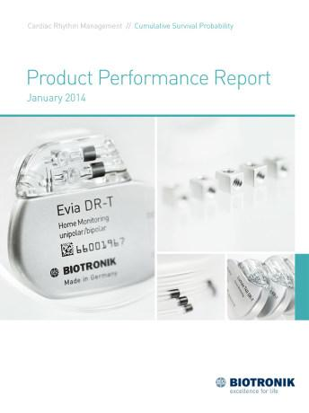 Product Performance Report January 2014