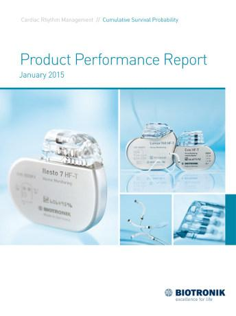 Product Performance Report January 2015