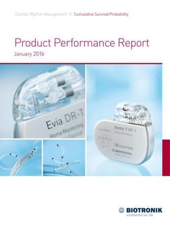 Product Performance Report January 2016